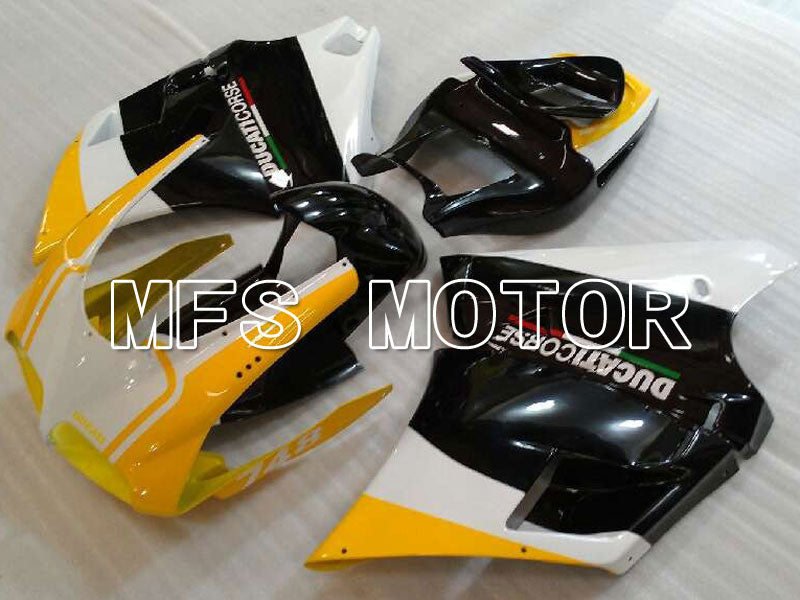 Injection ABS Fairing For Ducati 916 1994-1998 - Factory Style - Black Yellow - MFS4003 - shopping and wholesale