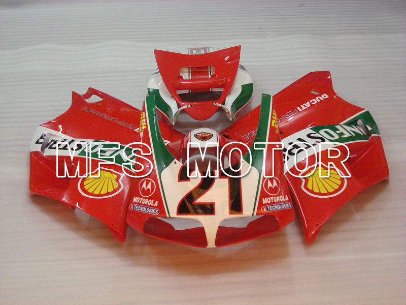 Injection ABS Fairing For Ducati 916 1994-1998 - INFO STRADA - Red - MFS4006 - shopping and wholesale