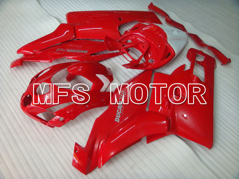 Injection ABS Fairing For Ducati 749 / 999 2003-2004 - Fabrikkstil - Rød - MFS4007 - Shopping og engros