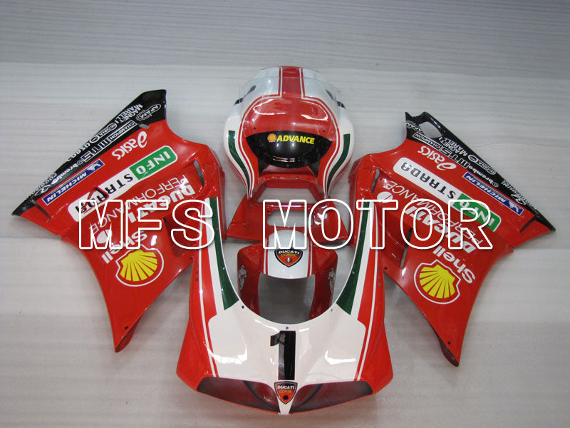 Injection ABS Fairing For Ducati 916 1994-1998 - INFO STRADA - Red - MFS4010 - shopping and wholesale