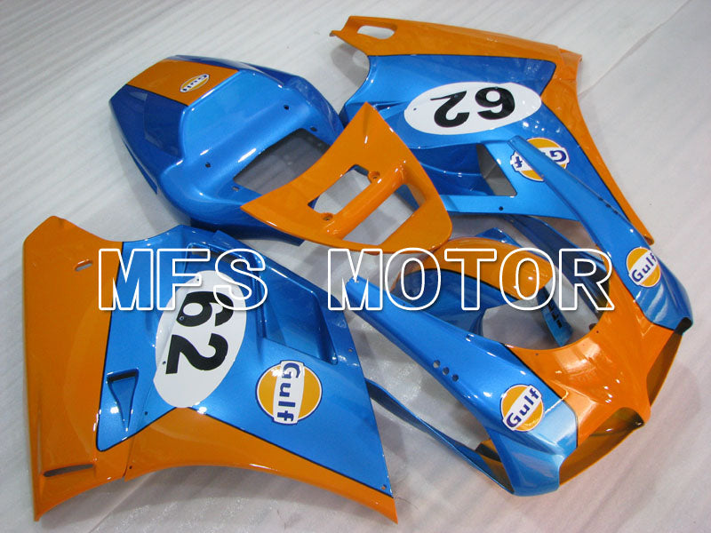 Carénage ABS d'Injection pour Ducati 916 1994-1998 - Golfe - Bleu Orange - MFS4013 - Shopping et gros