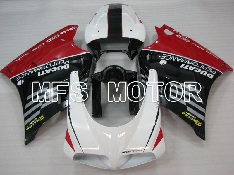 Injection ABS Fairing For Ducati 916 1994-1998 - Performance - Black White - MFS4016 - shopping and wholesale