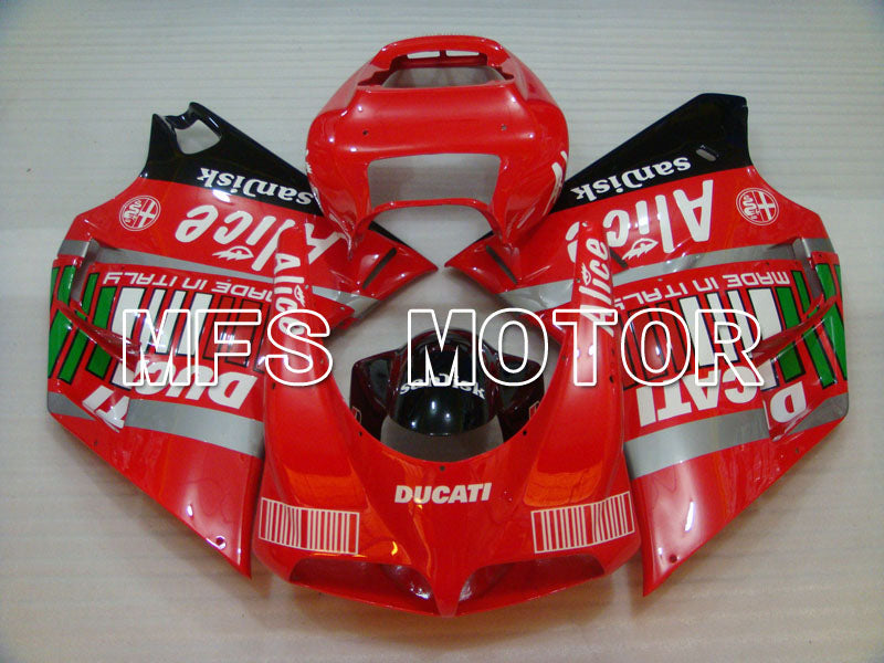 Injection ABS carénage pour Ducati 916 1994-1998 - Alice - Rouge - MFS4021 - Shopping et gros
