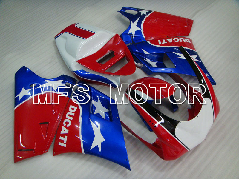 Injection ABS Fairing For Ducati 916 1994-1998 - Others - Red Blue - MFS4032 - shopping and wholesale