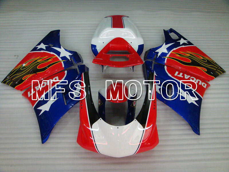 Injection ABS Fairing For Ducati 916 1994-1998 - Others - Red Blue - MFS4038 - shopping and wholesale