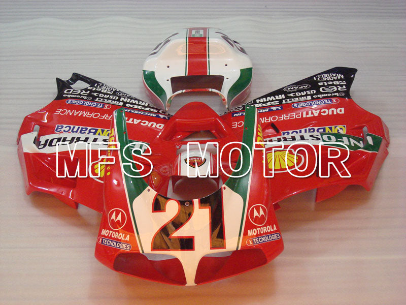 Injection ABS Fairing For Ducati 916 1994-1998 - INFO STRADA - Red - MFS4043 - shopping and wholesale