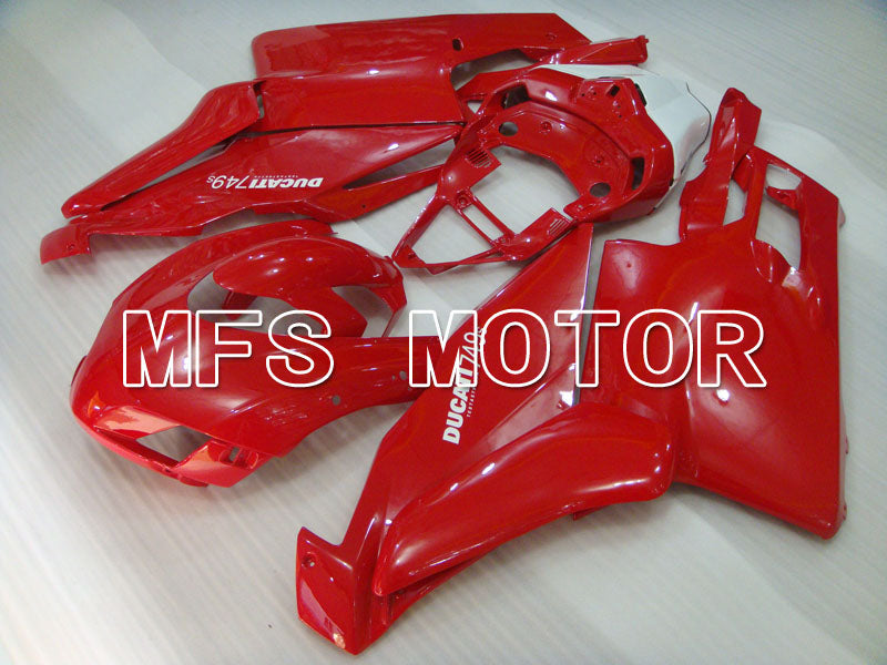 Injection ABS Fairing For Ducati 749 / 999 2005-2006 - Fabrikkstil - Rød - MFS4049 - Shopping og engros