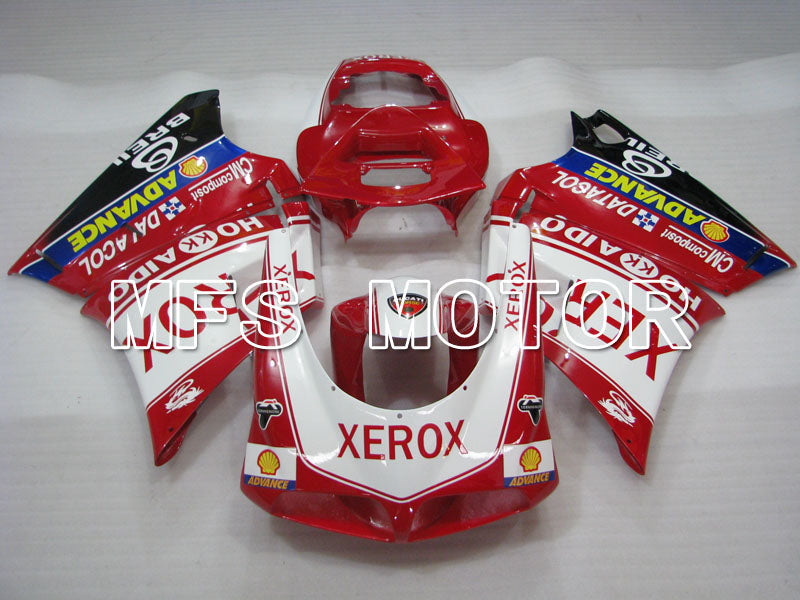 Injection ABS Fairing For Ducati 916 1994-1998 - Xerox - Red White - MFS4053 - shopping and wholesale