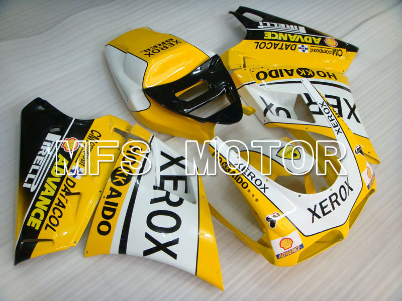 Injection ABS Fairing For Ducati 916 1994-1998 - Xerox - Yellow White - MFS4057 - shopping and wholesale