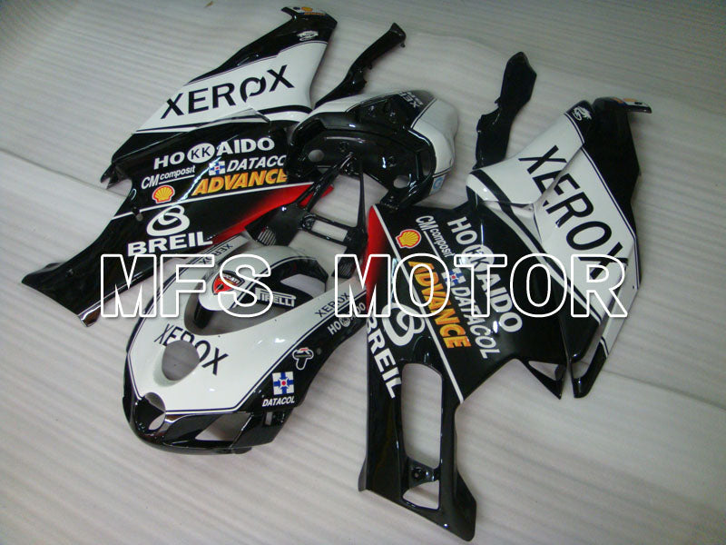 Injeksjon ABS Fairing For Ducati 749 / 999 2005-2006 - Xerox - Sort Hvit - MFS4059 - Shopping og engros