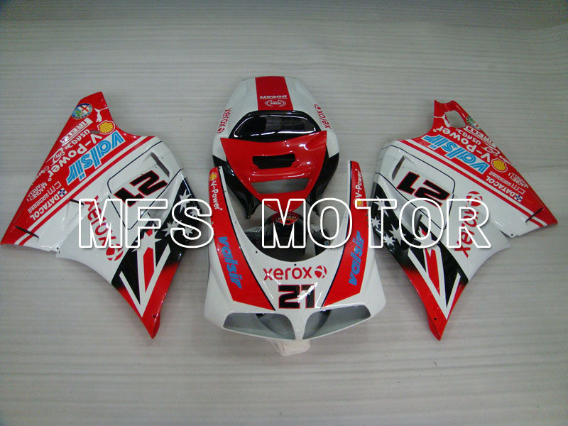 Injection ABS Fairing For Ducati 916 1994-1998 - Xerox - Red White - MFS4060 - shopping and wholesale