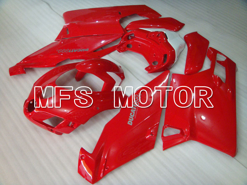 Injection ABS Fairing For Ducati 749 / 999 2005-2006 - Fabrikkstil - Rød - MFS4086 - Shopping og engros