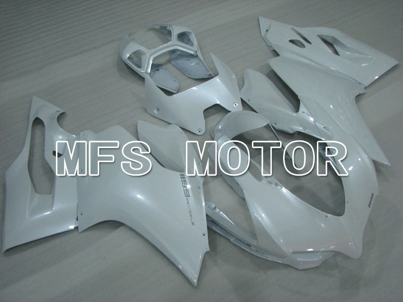 Injection ABS Fairing For Ducati 1199 2011-2014 - Factory Style - White - MFS4091 - shopping and wholesale