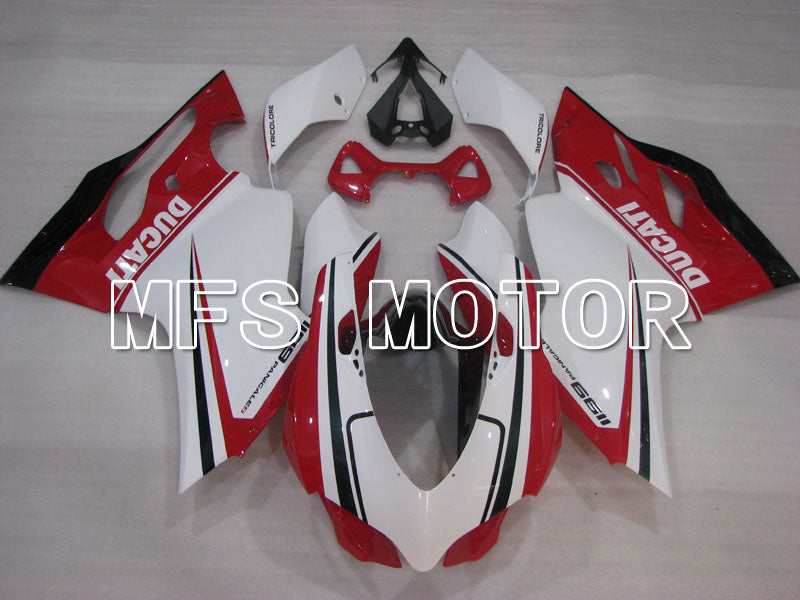 Injection ABS Fairing For Ducati 1199 2011-2014 - Factory Style - Red White - MFS4094 - shopping and wholesale