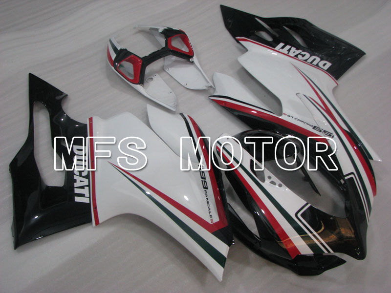 Injection ABS Fairing For Ducati 1199 2011-2014 - Factory Style - Black White - MFS4105 - shopping and wholesale