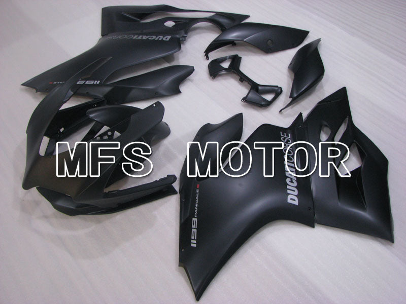 Injection ABS Fairing For Ducati 1199 2011-2014 - Factory Style - Black Matte - MFS4111 - shopping and wholesale