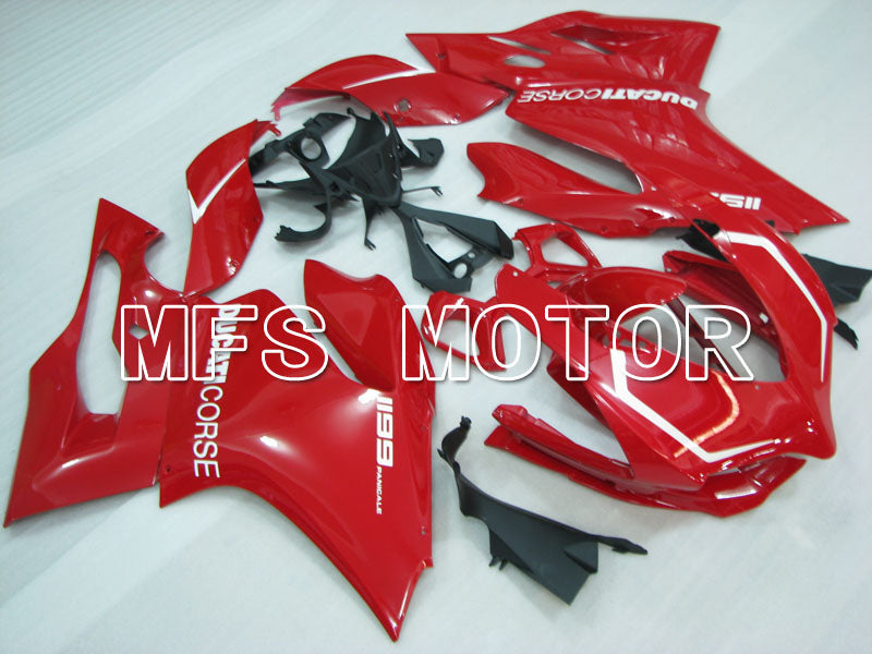 Injection ABS Fairing For Ducati 1199 2011-2014 - Factory Style - Red - MFS4114 - shopping and wholesale
