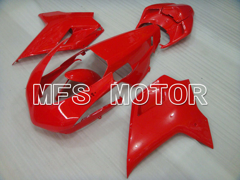 Injection ABS carénage pour Ducati 848 / 1098 / 1198 2007-2011 - Usine Style - Rouge - MFS4116 - Shopping et gros