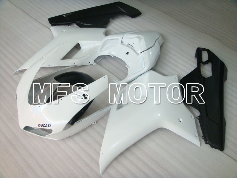 Injection ABS Fairing For Ducati 848 / 1098 / 1198 2007-2011 - Fabrikkstil - Svart Hvit - MFS4138 - Shopping og engros