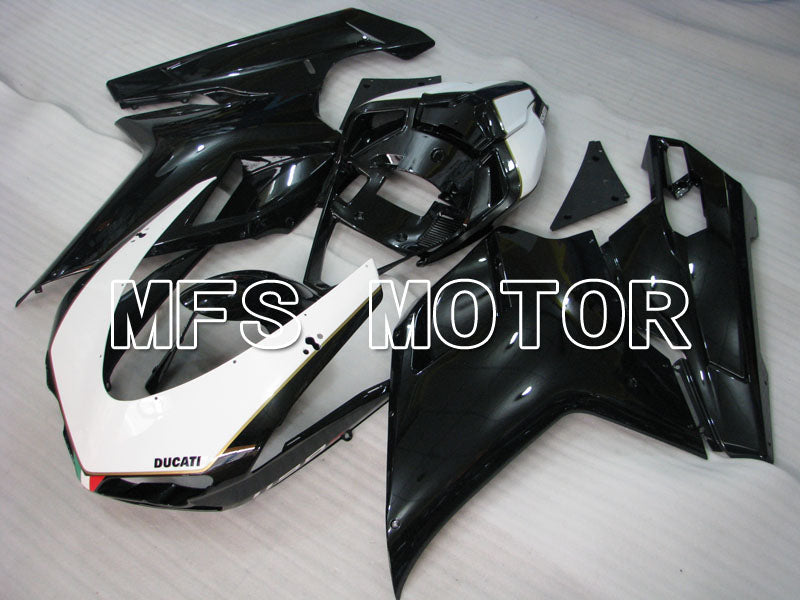 Injection ABS Fairing For Ducati 848 / 1098 / 1198 2007-2011 - Fabrikkstil - Svart Hvit - MFS4142 - Shopping og engros
