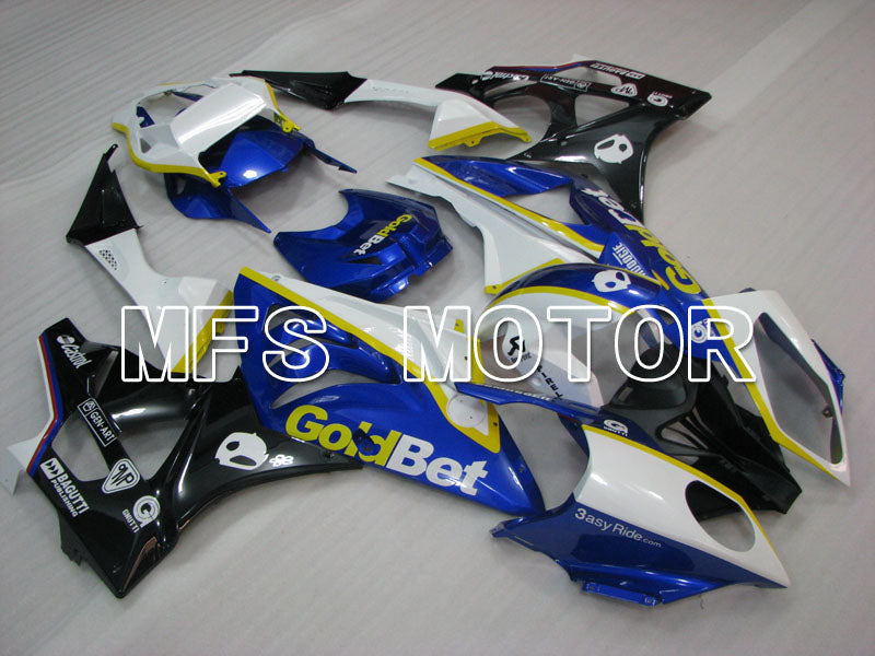 Injection ABS Fairing för BMW S1000RR 2009-2014 - Fabriksstil - Svart Vit Blå - MFS4150 - Shopping och grossist