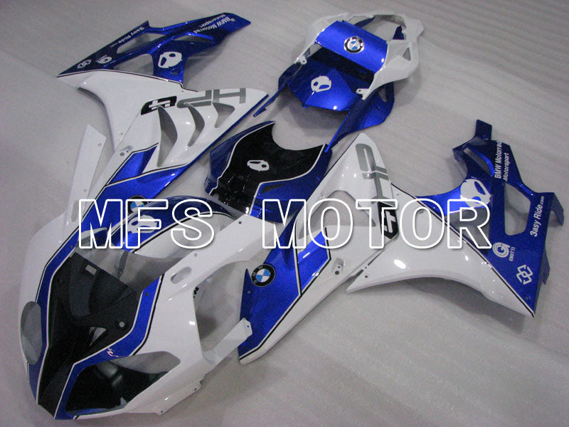 Injection ABS Fairing For BMW S1000RR 2009-2014 - Factory Style - White Blue - MFS4155 - shopping and wholesale
