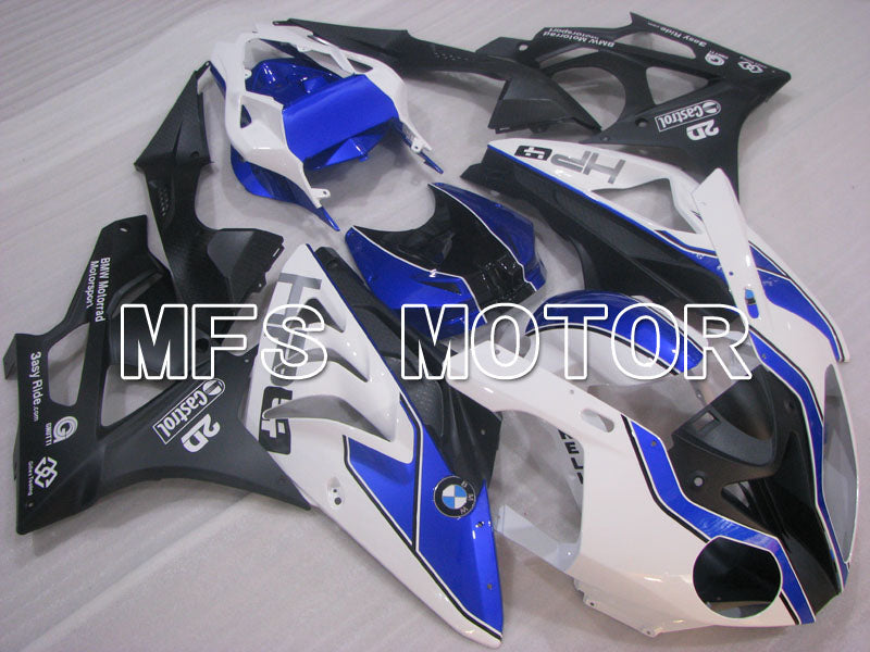 Injection ABS Fairing för BMW S1000RR 2009-2014 - Fabriksstil - Svart Vit Blå - MFS4157 - Shopping och grossist