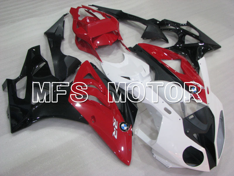 Injection ABS Fairing för BMW S1000RR 2009-2014 - Fabriksstil - Svart Vit Röd - MFS4158 - Shopping och grossist