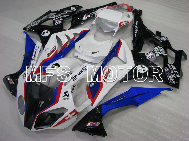 Injection ABS Fairing för BMW S1000RR 2009-2014 - Fabriksstil - Svart Vit Blå - MFS4160 - Shopping och grossist