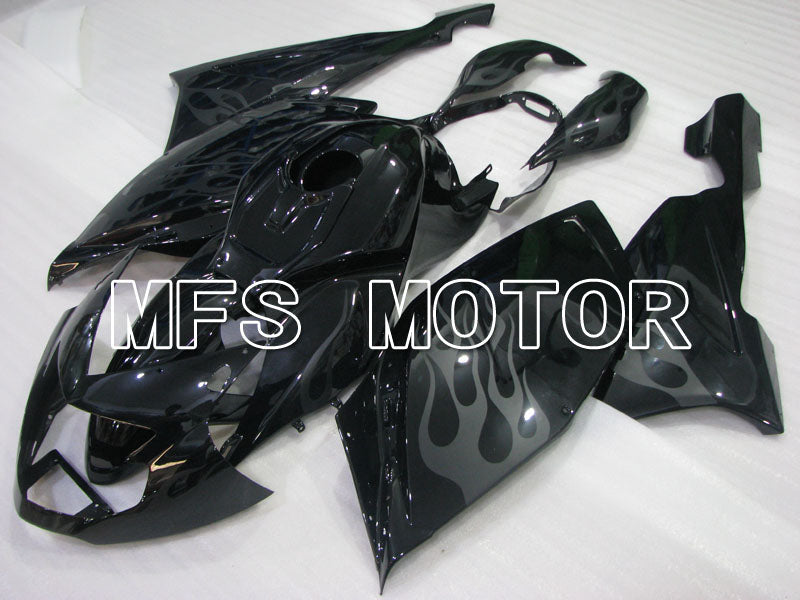 ABS Fairing til BMW K1200S 2005-2008 - Flame - Sort - MFS4173 - Shopping og engros