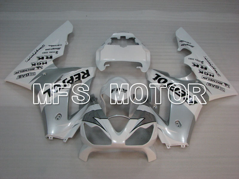 Injection ABS Fairing For Triumph Daytona 675 2006-2008 - Repsol - Gray White - MFS4186 - shopping and wholesale