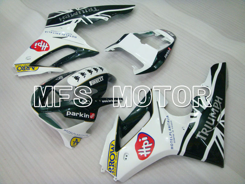 Injection ABS Fairing For Triumph Daytona 675 2006-2008 - Parkingo - Black White - MFS4191 - shopping and wholesale