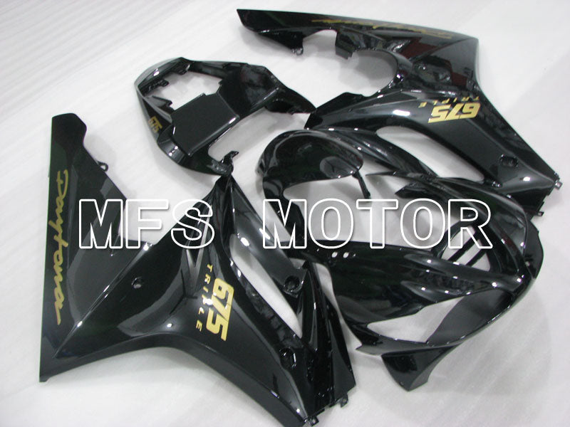 Injection ABS Fairing For Triumph Daytona 675 2006-2008 - Fabrikkstil - Svart - MFS4194 - Shopping og engros