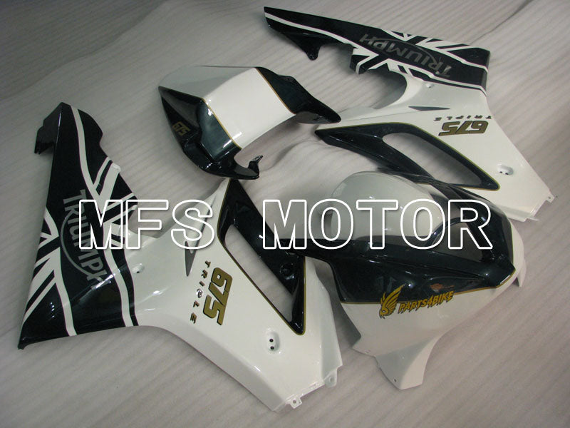 Injection ABS Fairing For Triumph Daytona 675 2006-2008 - Fabrikkstil - Svart Hvit - MFS4196 - Shopping og engros