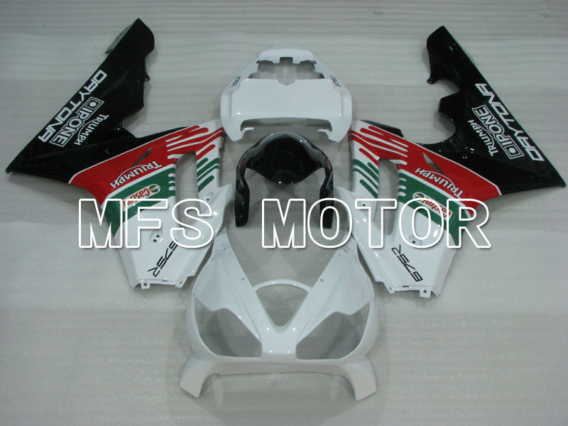 Injection ABS Fairing For Triumph Daytona 675 2006-2008 - Castrol - Rød Hvit Grønn - MFS4201 - Shopping og engros