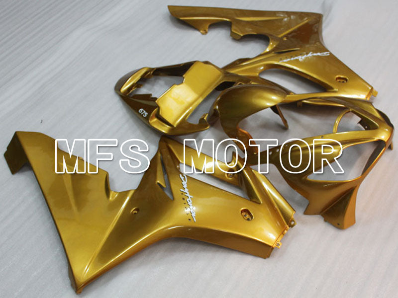 Injection ABS Fairing For Triumph Daytona 675 2006-2008 - Fabrikkstil - Gull - MFS4203 - Shopping og engros