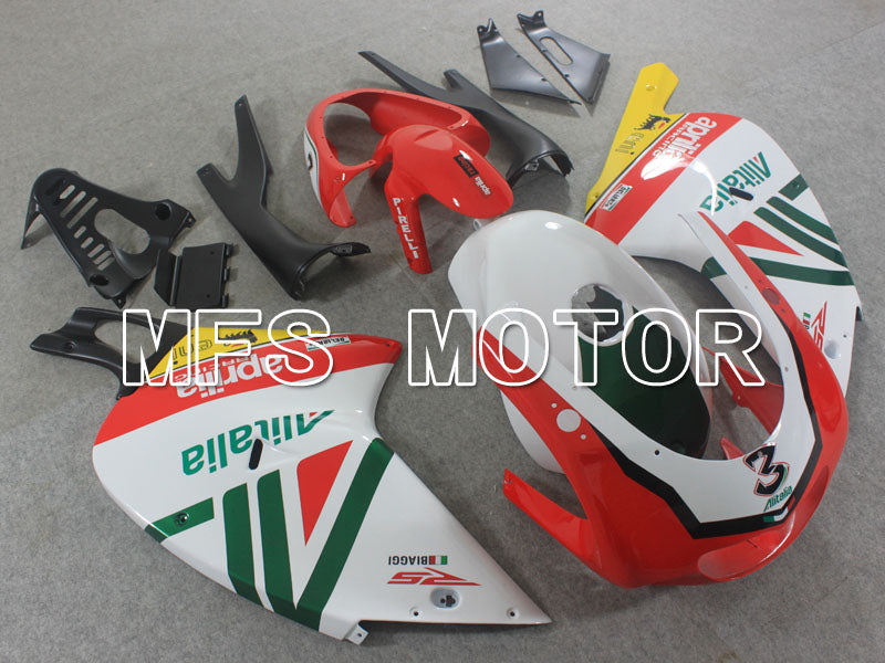 ABS Fairing For Aprilia RS125 2000-2005 - Andre - Rød Hvid - MFS4206 - Shopping og engros