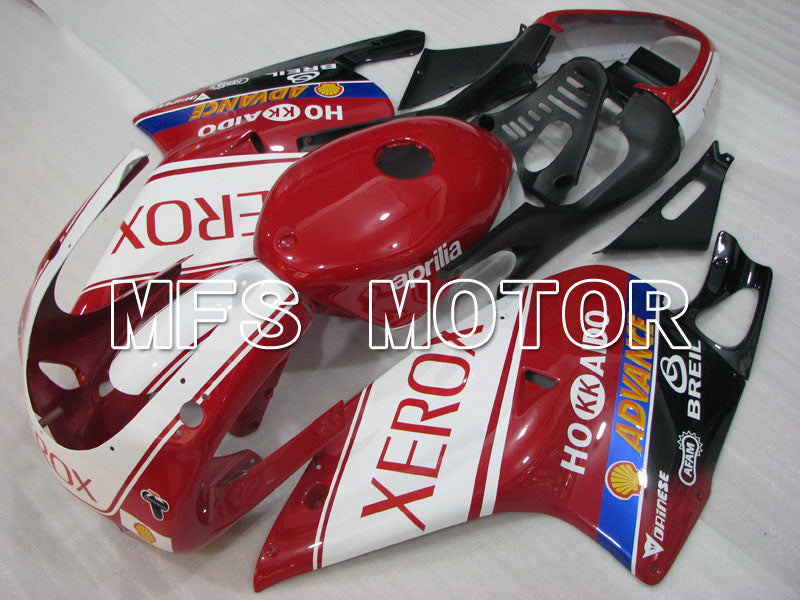 ABS Fairing For Aprilia RS125 2000-2005 - Xerox - Rødhvide - MFS4207 - Shopping og engros