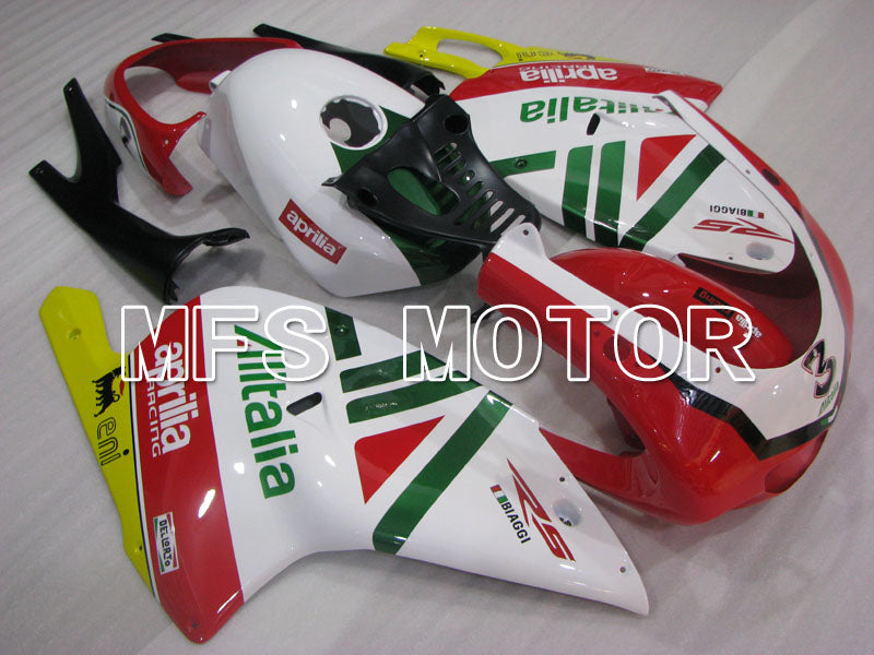 ABS Fairing For Aprilia RS125 2000-2005 - Andre - Rød Hvit - MFS4209 - Shopping og engros