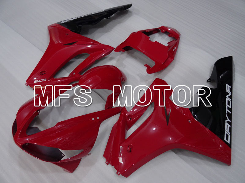 Injection ABS Fairing For Triumph Daytona 675 2009-2012 - Factory Style - Red - MFS4210 - shopping and wholesale
