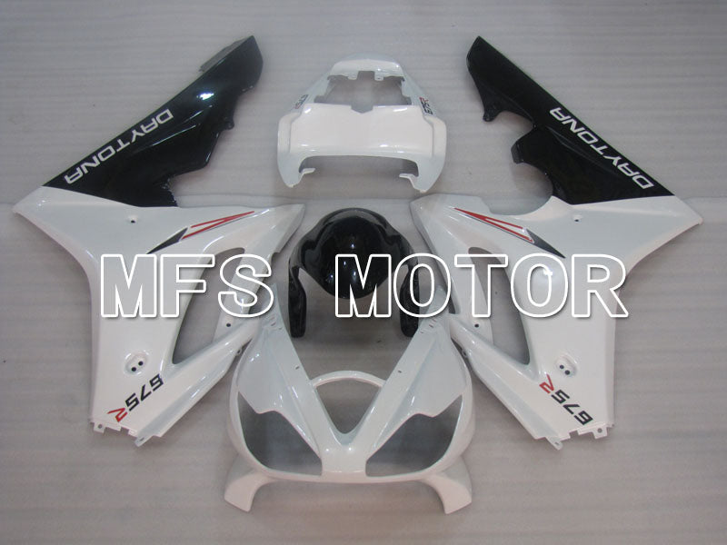 Injection ABS Fairing For Triumph Daytona 675 2006-2008 - Fabrikkstil - Hvit - MFS4205 - Shopping og engros