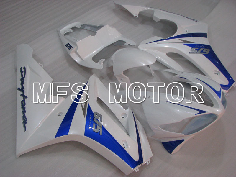 Injection ABS Fairing For Triumph Daytona 675 2009-2012 - Fabrikkstil - Blå Hvit - MFS4216 - Shopping og engros
