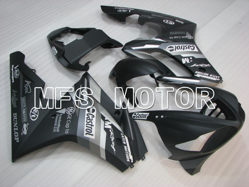 Injection ABS Fairing For Triumph Daytona 675 2009-2012 - Castrol - Svart Matte - MFS4220 - Shopping og engros