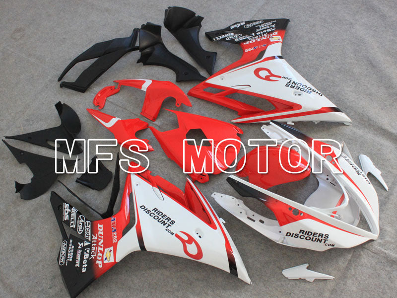 Injection ABS Fairing For Triumph Daytona 675 2013-2014 - DUNLOP - Red White - MFS4227 - shopping and wholesale