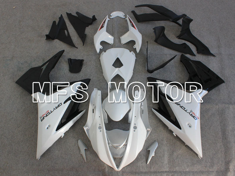 Injection ABS Fairing For Triumph Daytona 675 2013-2014 - Fabrikkstil - Svart Hvit - MFS4231 - Shopping og engros
