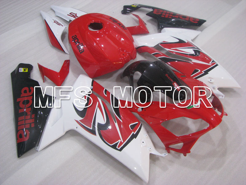 Injection ABS Fairing For Aprilia RS125 2006-2011 - Andre - Rød Hvit - MFS4238 - Shopping og engros