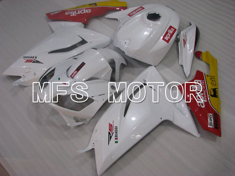 Injection ABS Fairing For Aprilia RS125 2006-2011 - Fabrikkstil - Rød Hvit - MFS4244 - Shopping og engros