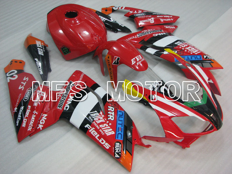 Injection ABS Fairing For Aprilia RS125 2006-2011 - Andre - Rød - MFS4247 - Shopping og engros