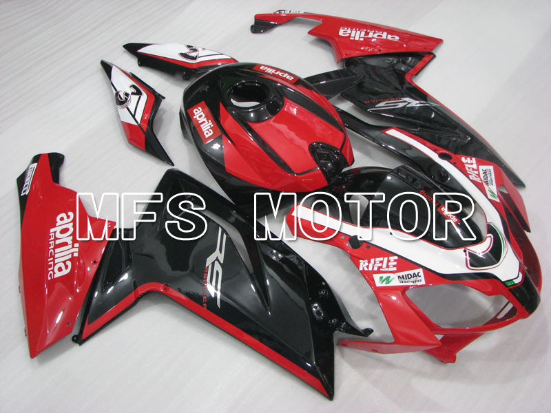 Injection ABS Fairing For Aprilia RS125 2006-2011 - Andre - Svart Rød - MFS4248 - Shopping og engros