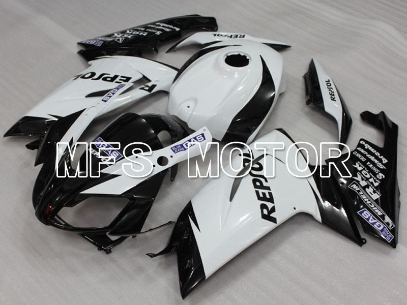 Injection ABS Fairing For Aprilia RS125 2006-2011 - Repsol - Sort Hvid - MFS4252 - Shopping og engros